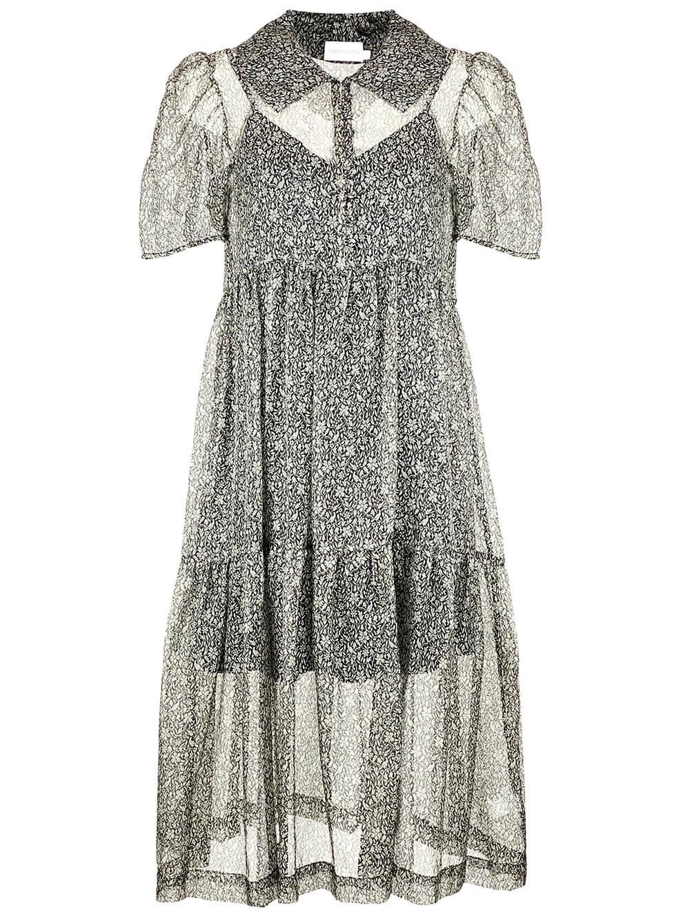 Eve Organza Midi Dress Item # CLD79