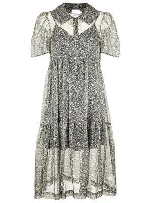 Eve Organza Midi Dress