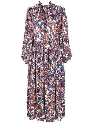 Mila Printed Maxi Dress