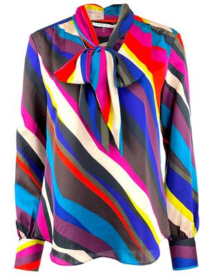 Demming Striped Blouse