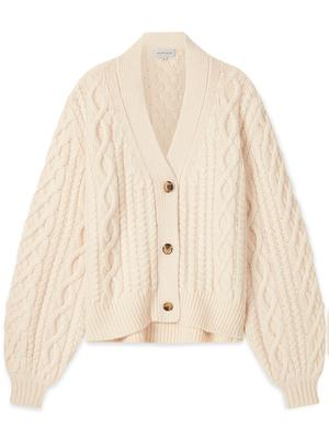 Standford Cable Knit Cardigan