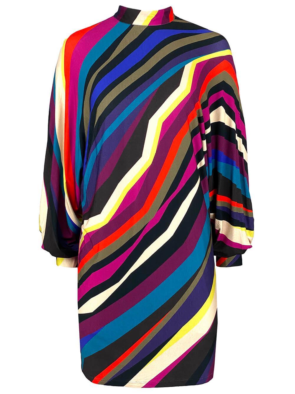 Enjoyment Multi Stripe Dress Item # 2108315PJ1