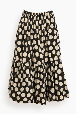Arline Polka Dot Skirt