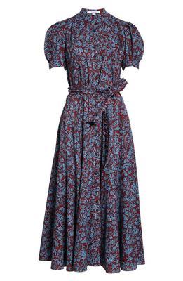 Dylan Puff Sleeve Maxi Dress