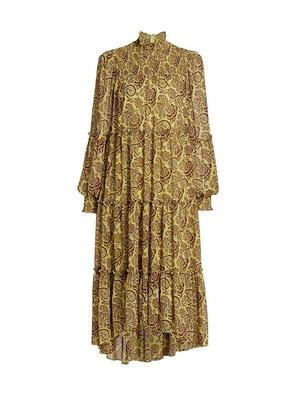 Paisley Rika High Low Dress