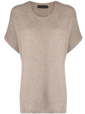 Sequin Knit Sweater