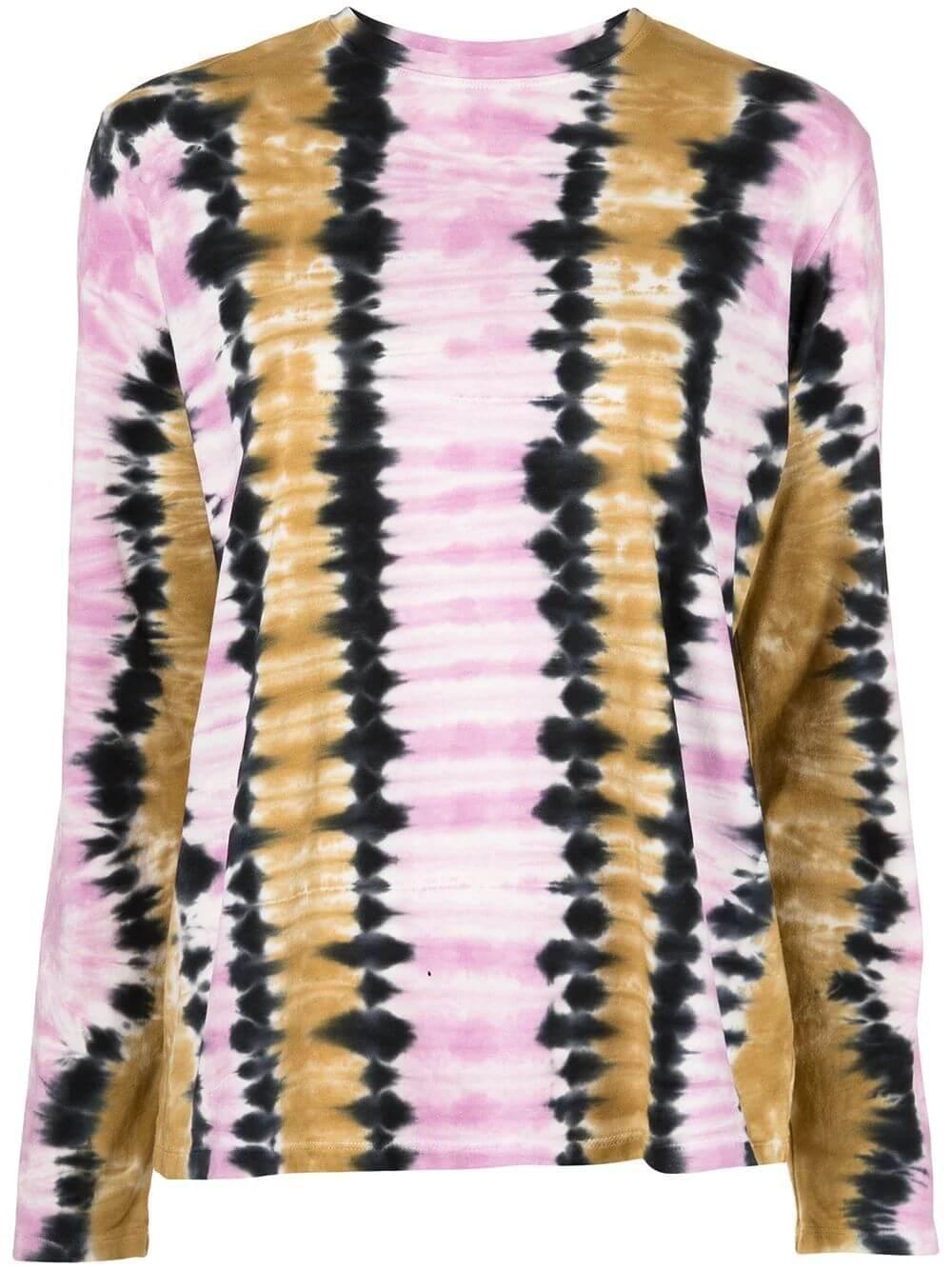 Tie Dye Long Sleeve Tee Item # WL2134237