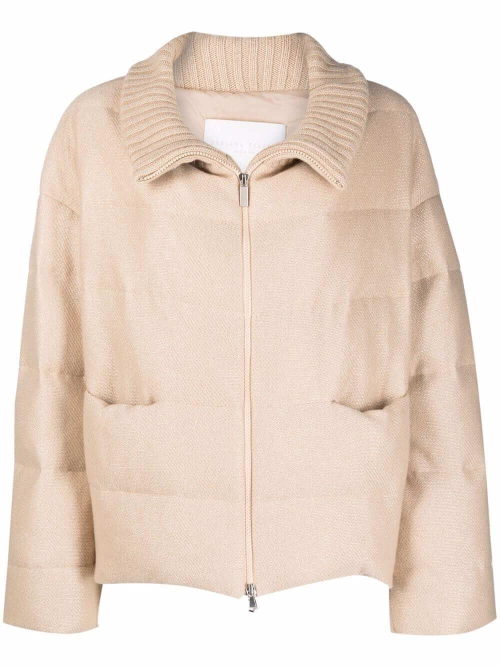 Zip- Up Puffer Jacket Item # CTD221W238