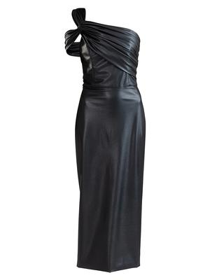Chauncey Faux Leather Dress
