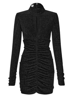 Sena Ruched Mini Dress