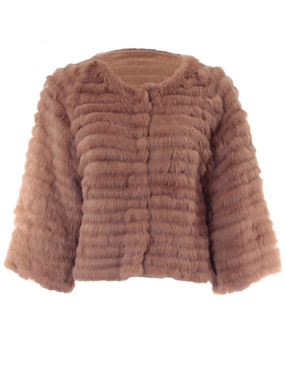 Faux Fur Coat Item # 71722-F21