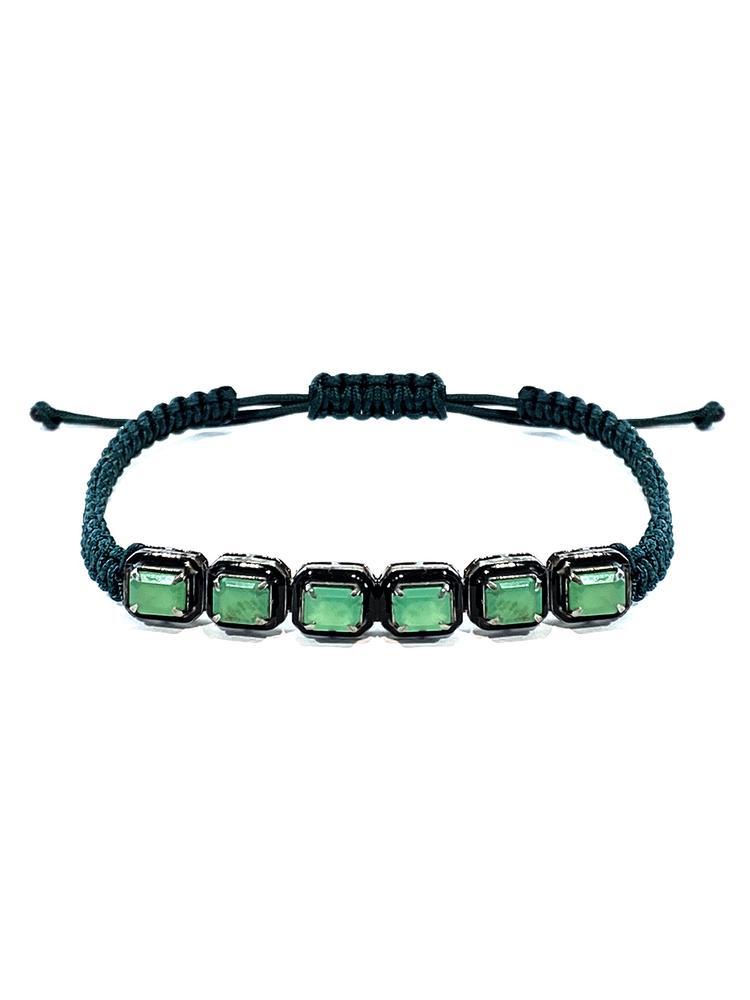 Braided Enamel Bracelet Item # BR3897-C