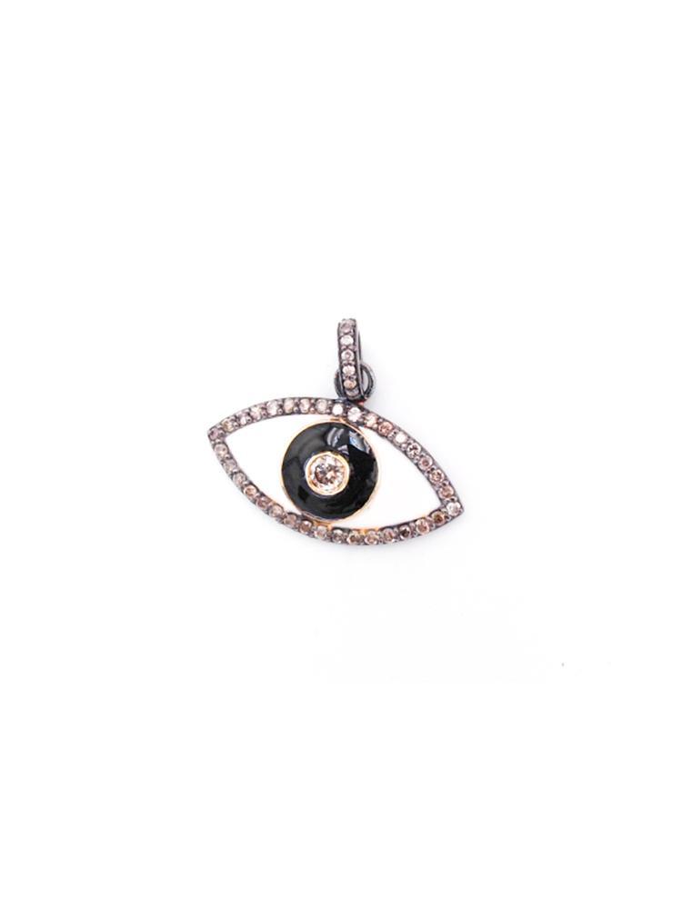 Enamel Eye Pendant Item # PG3629-C