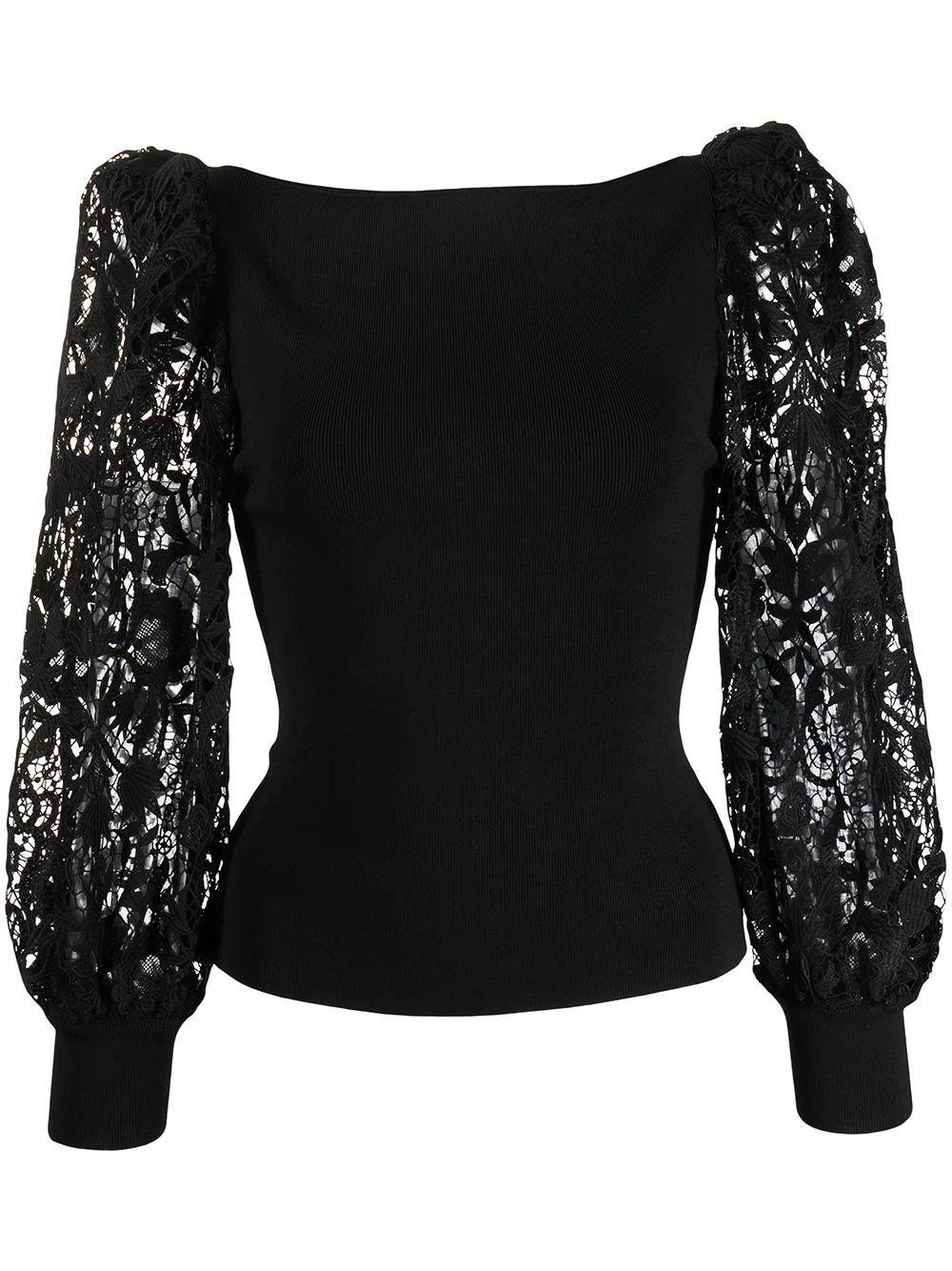 Abella Puff Sleeve Sweater Item # CC108S02711