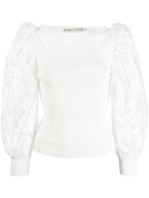 Abella Puff Sleeve Sweater