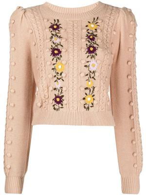 Enid Puff Sleeve Sweater