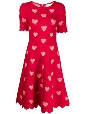 Knit Heart Dress