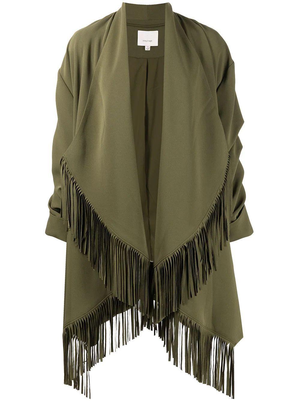 Azura Fringe Jacket Item # ZJ4151319Z