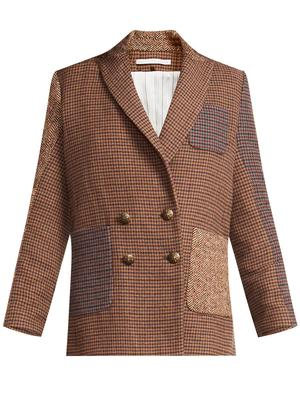 Faustine Houndstooth Dickey Jacket