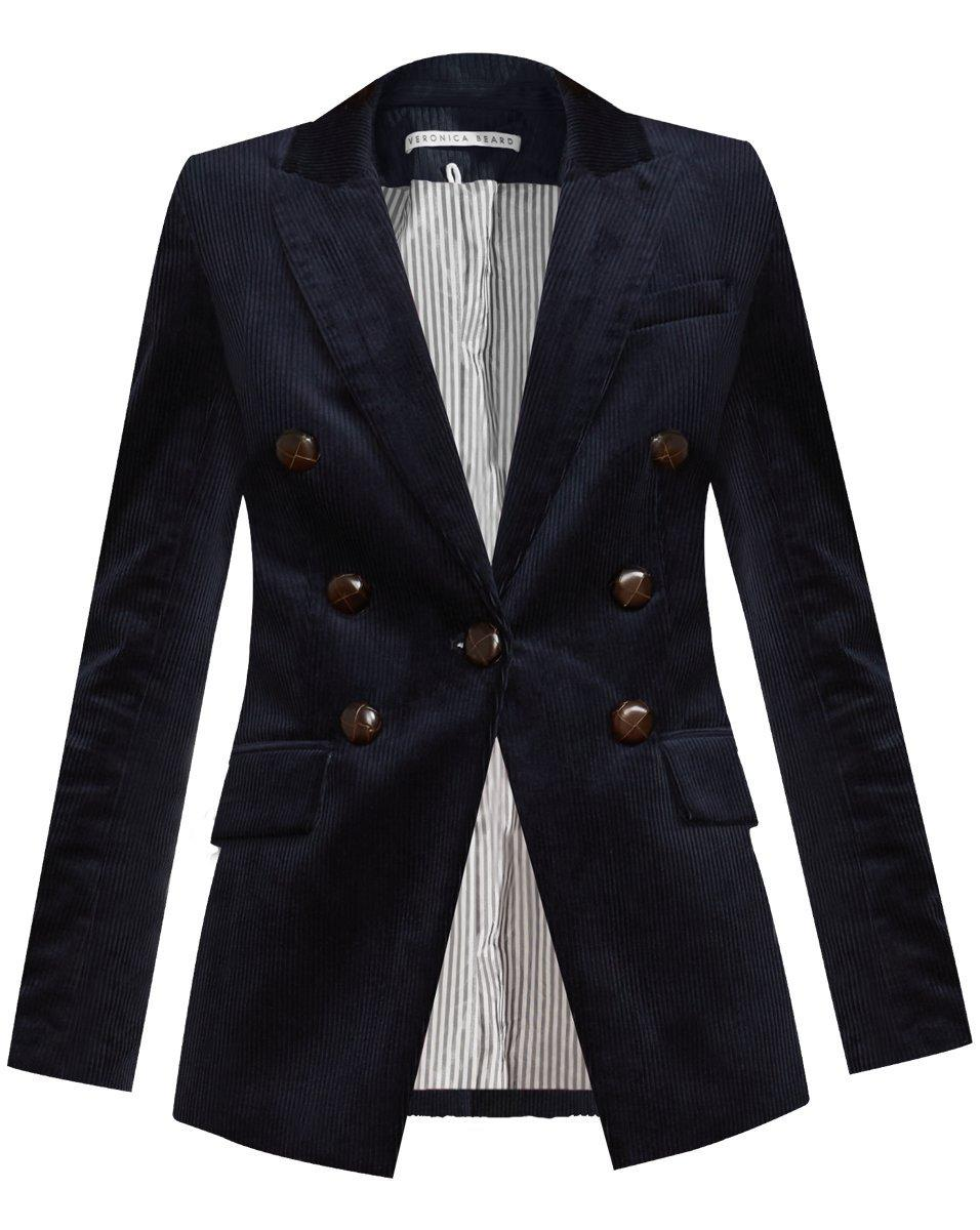 Gaya Corduroy Dickey Jacket With Elbow Patches Item # 2109CD00210031