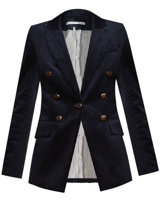 Gaya Corduroy Dickey Jacket With Elbow Patches