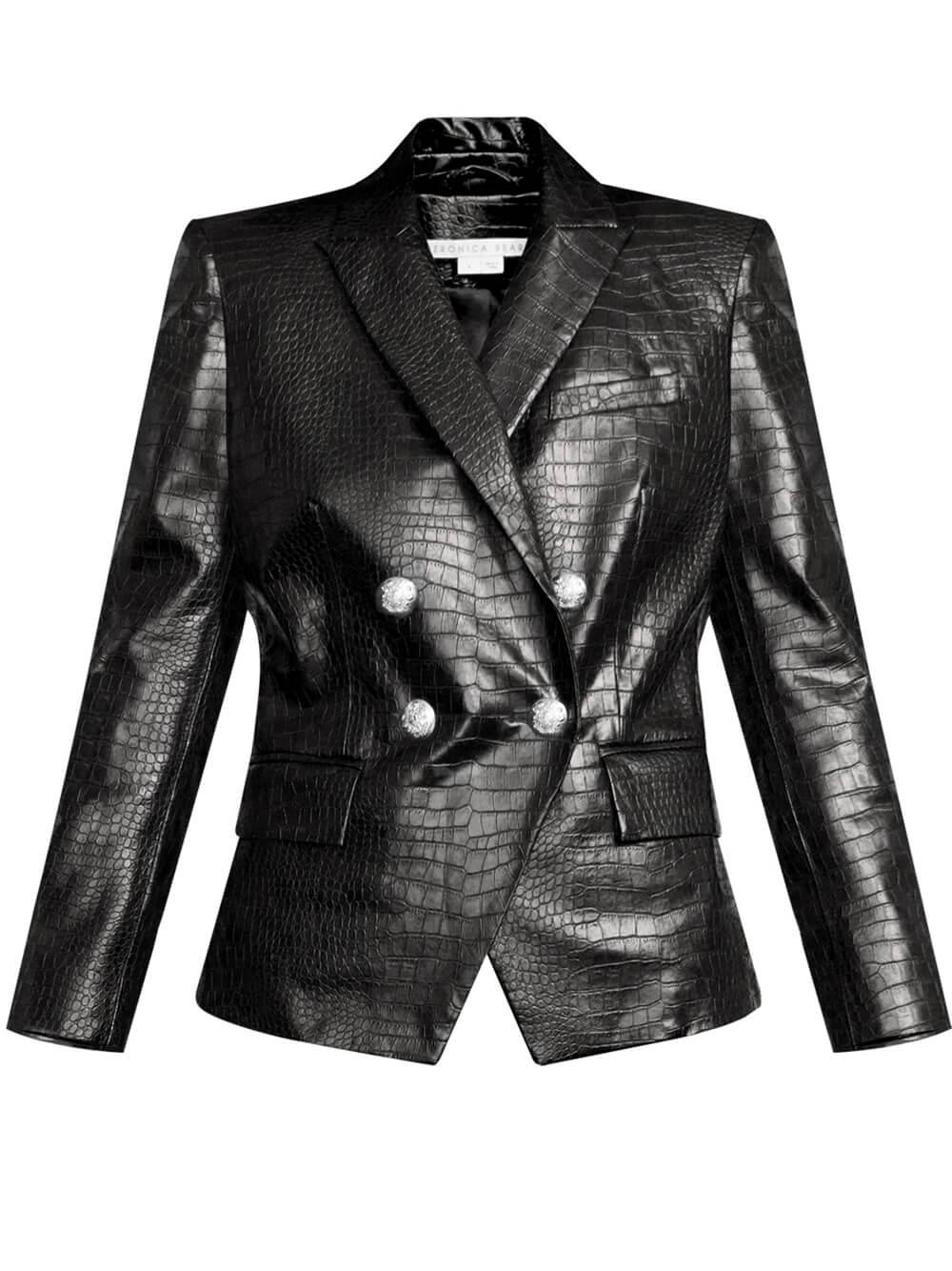 Gail Vegan Leather Jacket Item # 2108LT121676