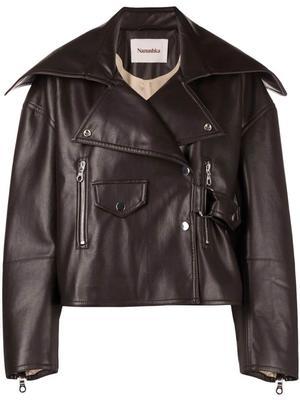 Ado Regenerated Leather Jacket