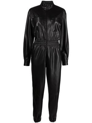 Levi Faux Leather Jumpsuit