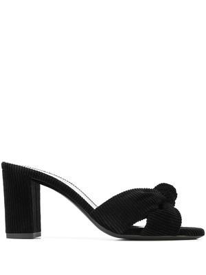 Bianca 75mm Corduroy Slide Sandal