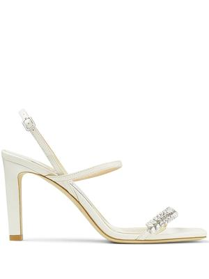 Meira 85mm Crystal Embellished Sandal