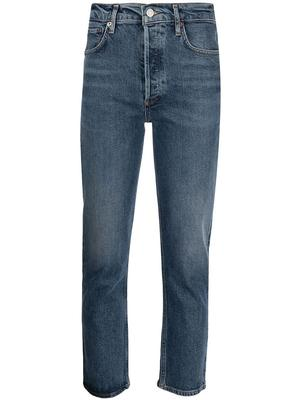 Riley Cropped Straight Leg Jean