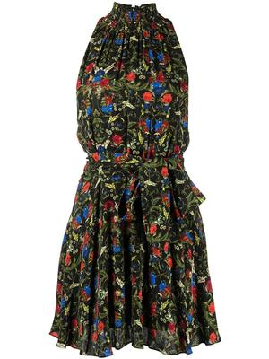 Dita Smocked Mini Dress
