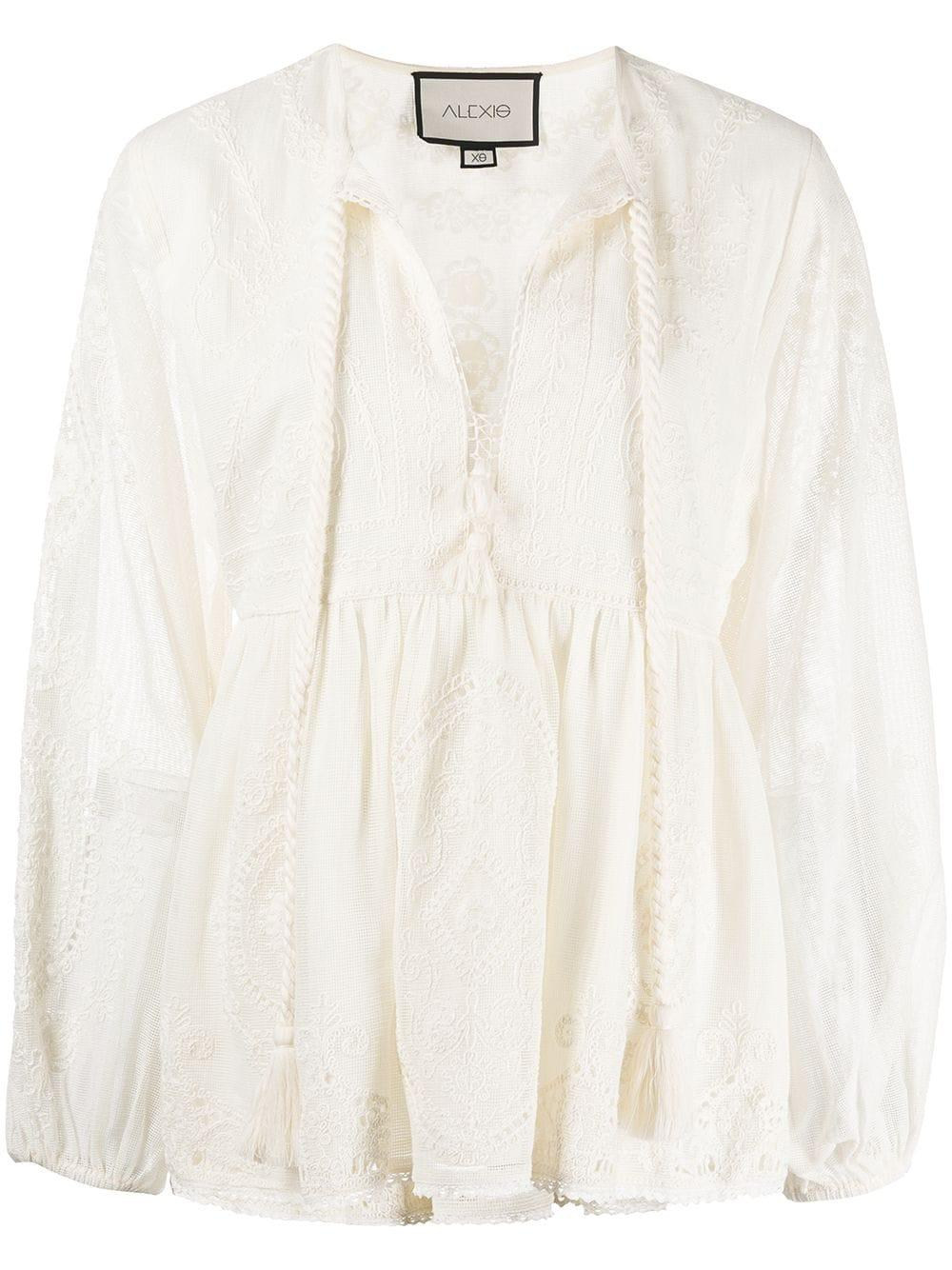 Rubia Embroidered Top Item # A3210129-7546