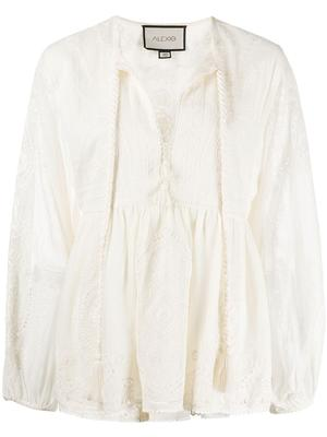 Rubia Embroidered Top