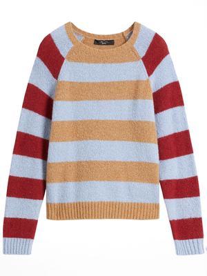 Geo Stripe Sweater