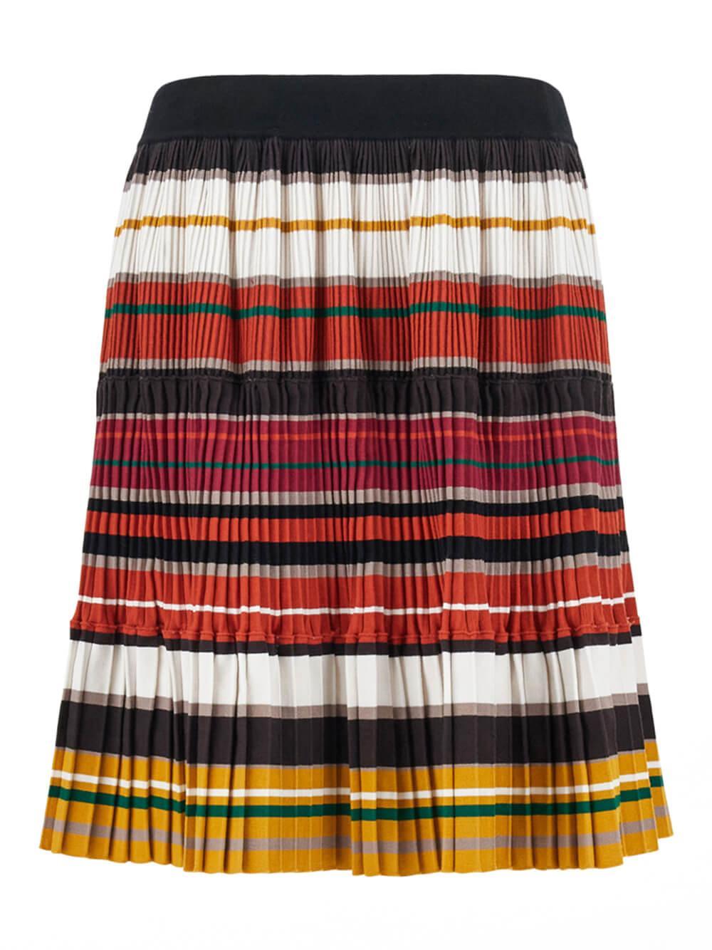 Europa Stretch Stripe Skirt Item # 5306011306