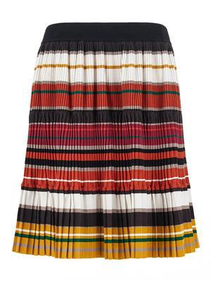 Europa Stretch Stripe Skirt