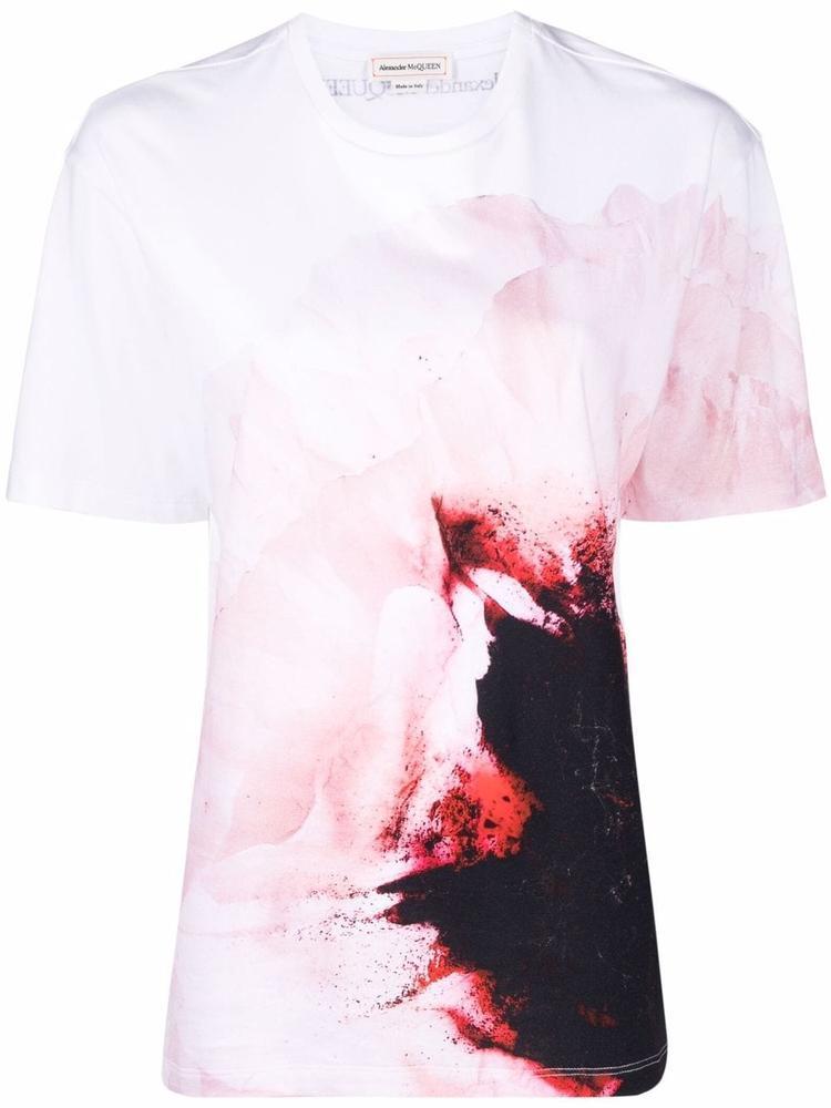 Floral T- Shirt Item # 679768QZAEL