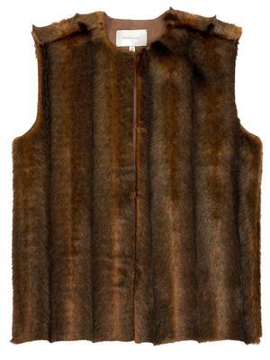 Penn Faux Fur Vest