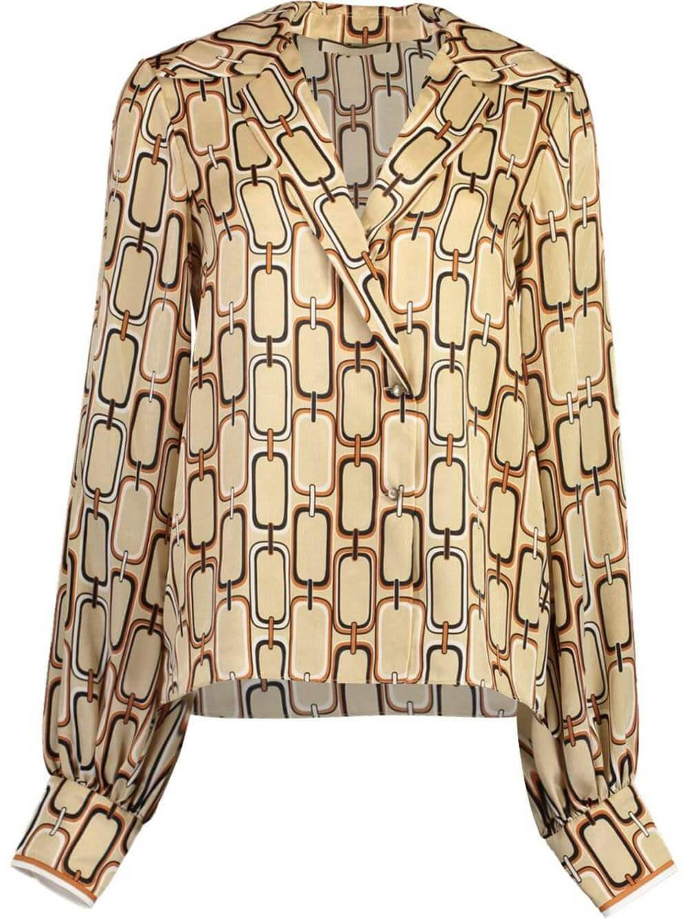 Reyson Chain Link Button Down Item # A3210111-7463