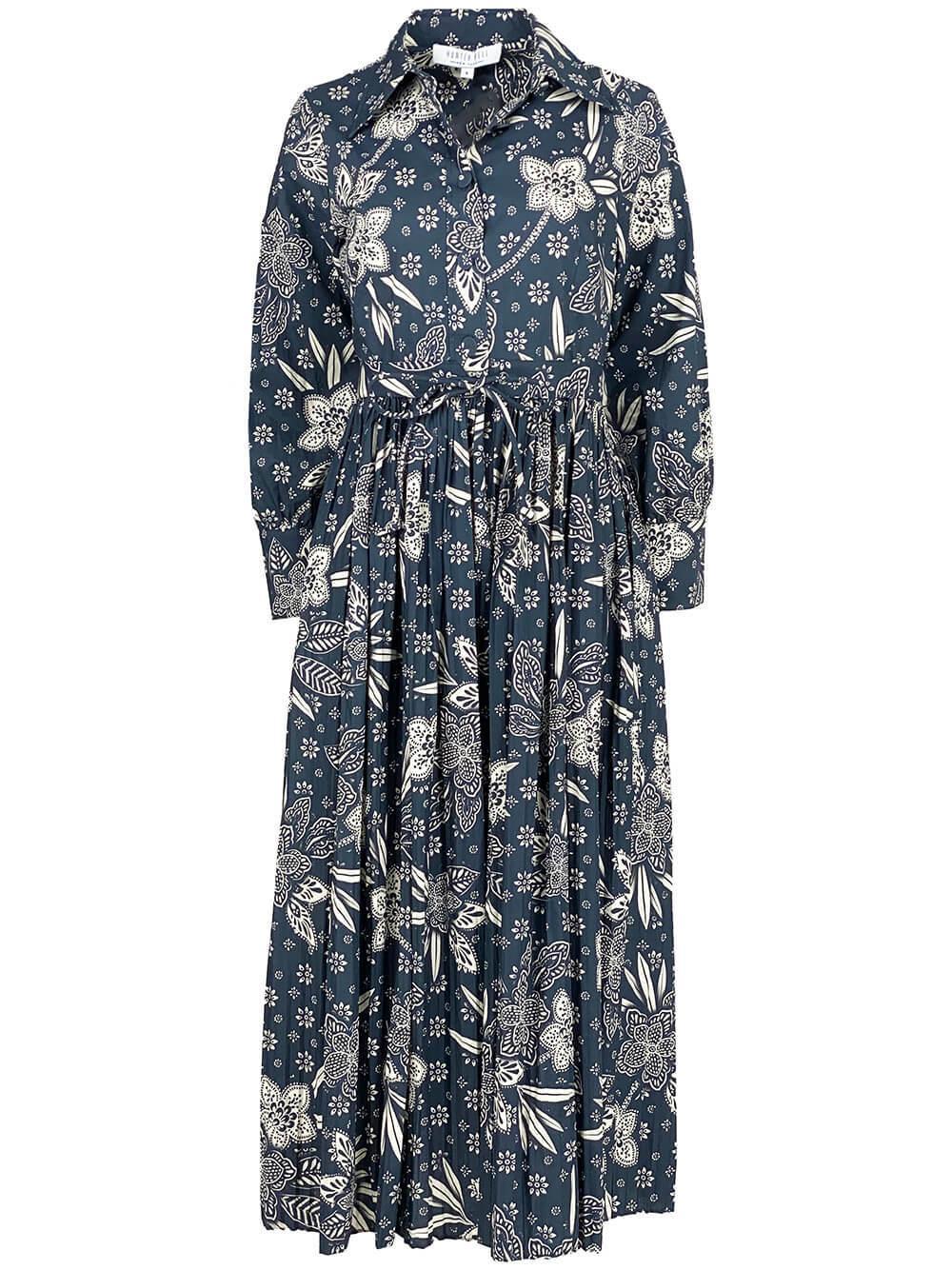 Hattie Midi Shirt Dress Item # 21FD1