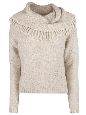 Lewes Fringe Off the Shoulder Sweater
