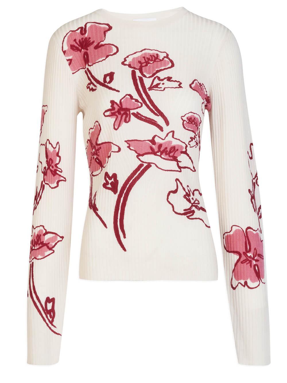 Carina Flower Sweater Item # F21K654852