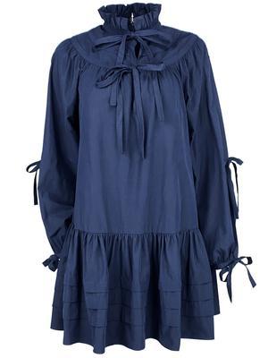 Oriana Blouson Sleeve Dress