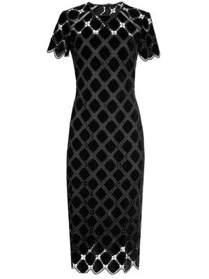 Kiriya Velvet Lace Dress