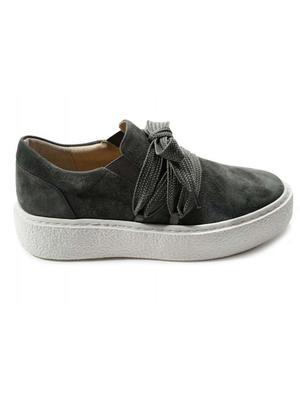 Yvette Suede Platform Sneaker