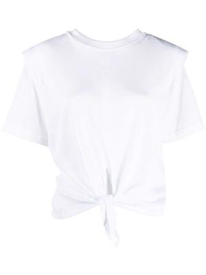 Zelikia Knot Front T-Shirt