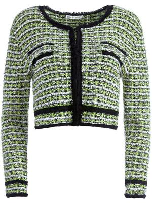 Tyler Cropped Textured Cardigan