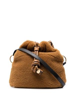 Cleme Shearling Bag