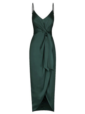 Tie Front Cocktail Dress